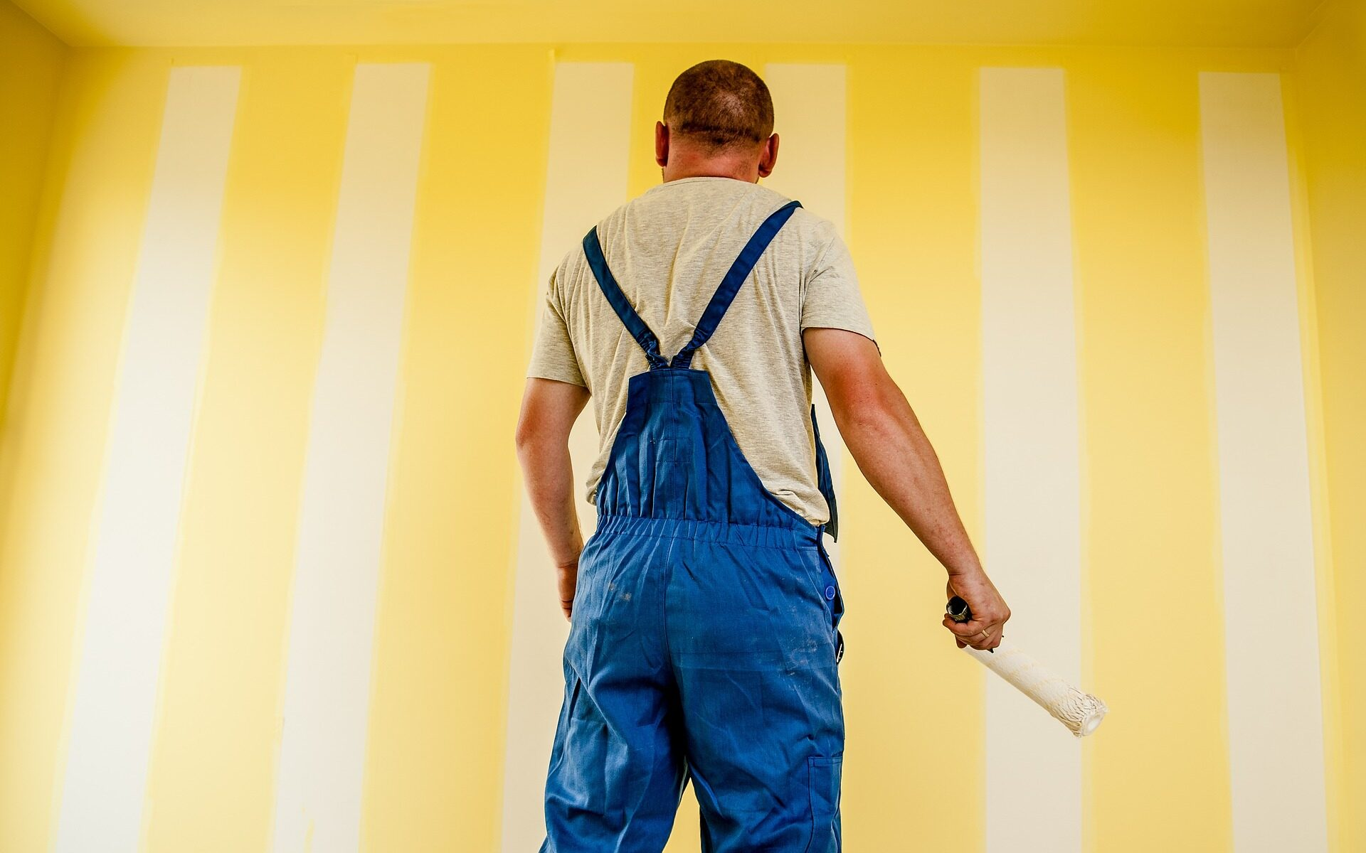 Interior house painting reading